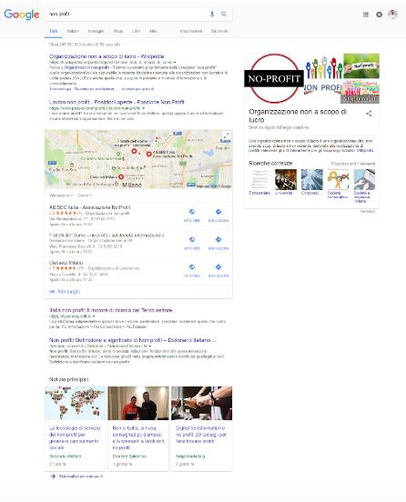 seo google non profit