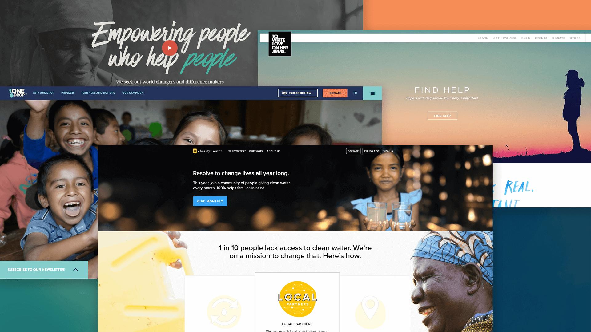 siti web non profit